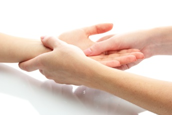 Arm and hand massage